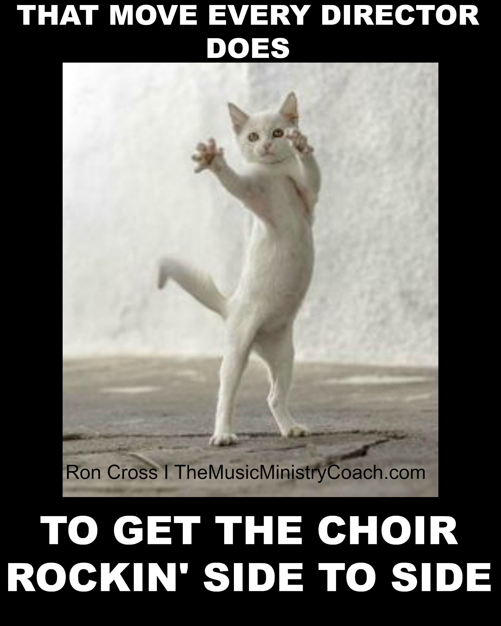 This Is How Every Gospel Choir Director Starts The Choir To Moving