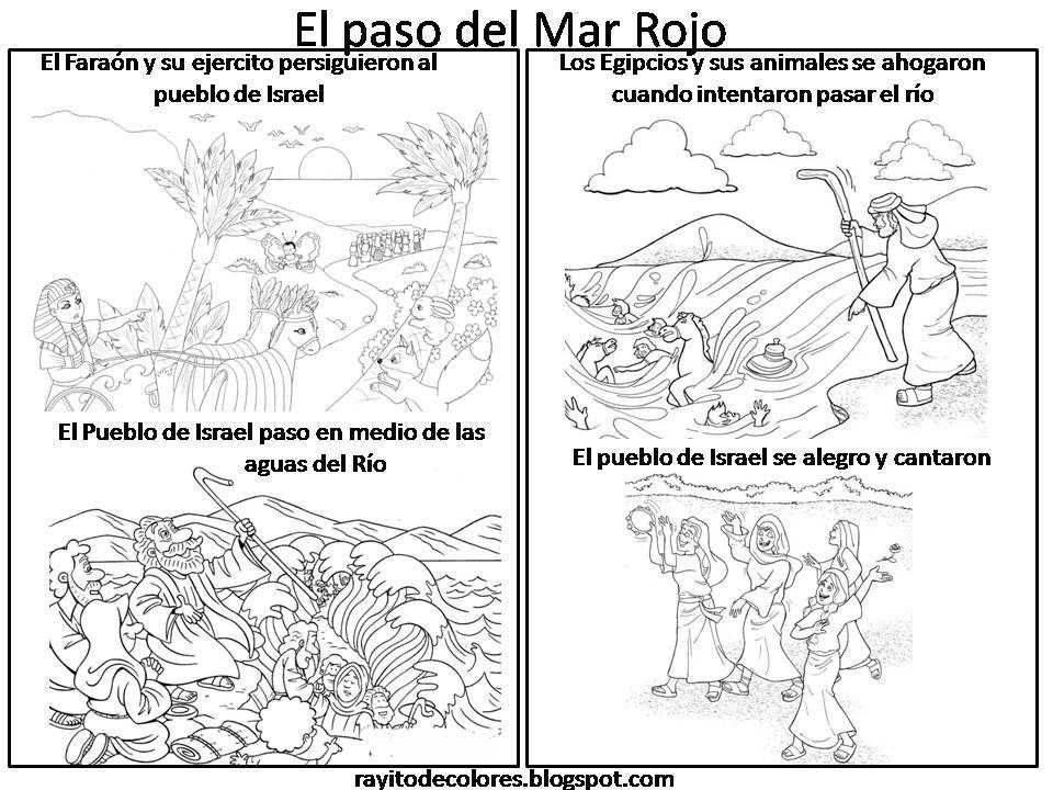 El Paso del Mar Rojo | Escuela dominical | Escuela dominical ...