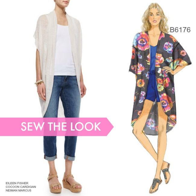 Sew the Look: Make a cozy kimono out of a lightweight sweater knit ...