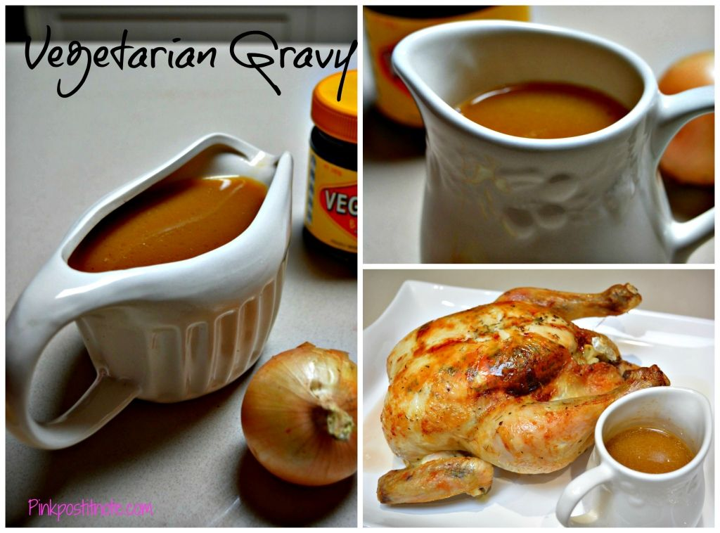 This Vegetarian Gravy isn't just for the vegetarians, it's jam packed full of flavour and will keep every tummy happy!