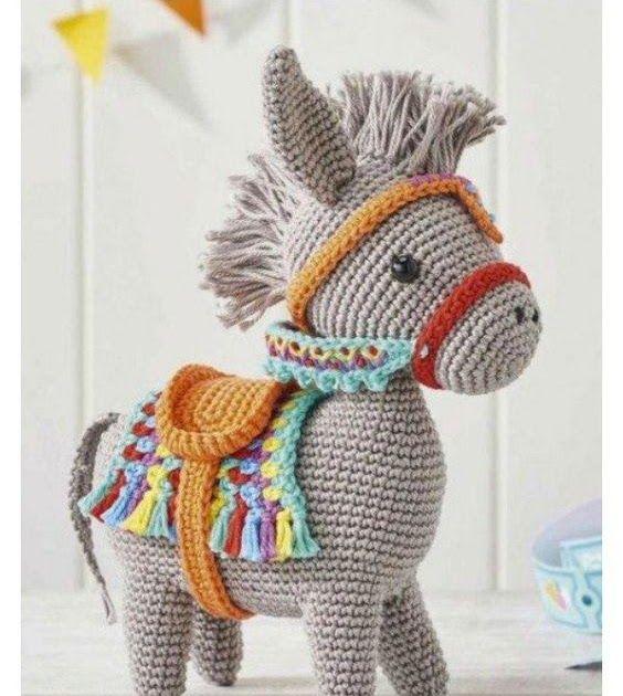 Little Amigurumi Donkey Free Crochet Pattern   DIY & Crafts ...
