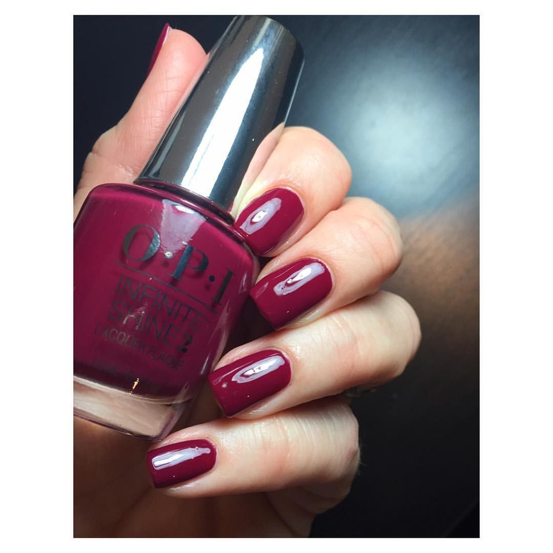 Infinite Shine Berry On Forever from OPI. | Nails | Pinterest ...