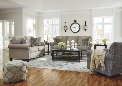 Best Ashley® Basiley 7 Piece Living Room Set Basiley 7Pc 400 x 300