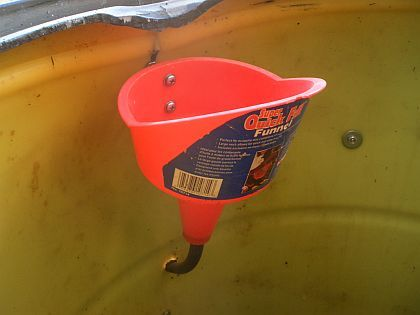 Urine Diversion Option For Barrel Composting Toilet In