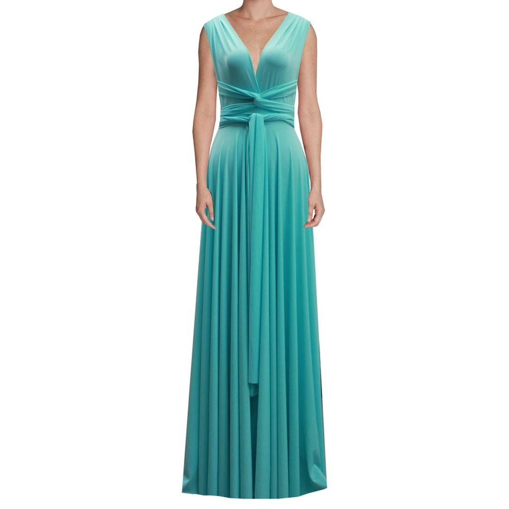Long infinity bridesmaid dress tiffany blue convertible gown for long infinity bridesmaid dress tiffany blue convertible gown for prom evening or formal occasions xs 5xl ombrellifo Choice Image