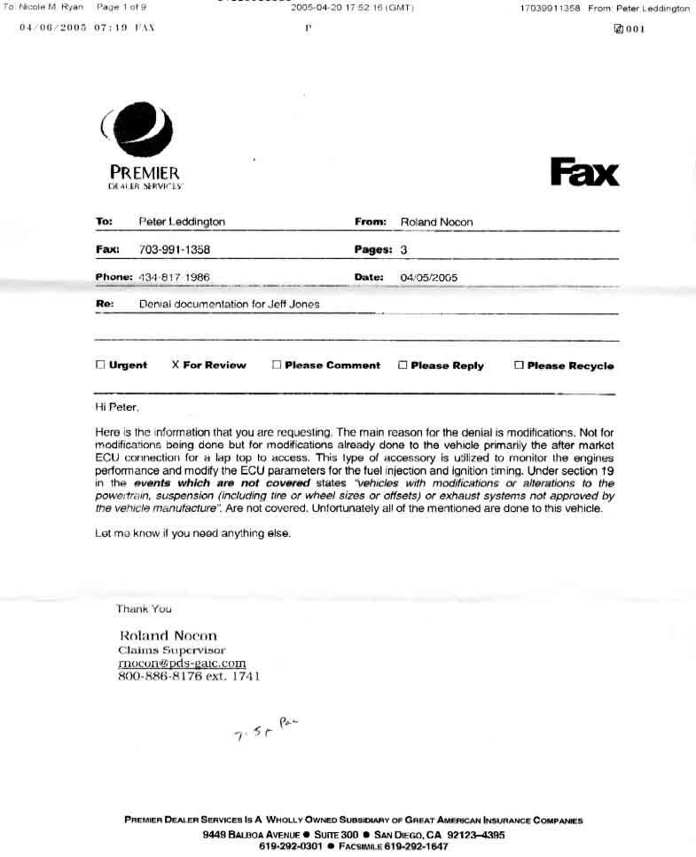 Copy Of A Cover Letter For Fax Icare Insurance  Your Essay