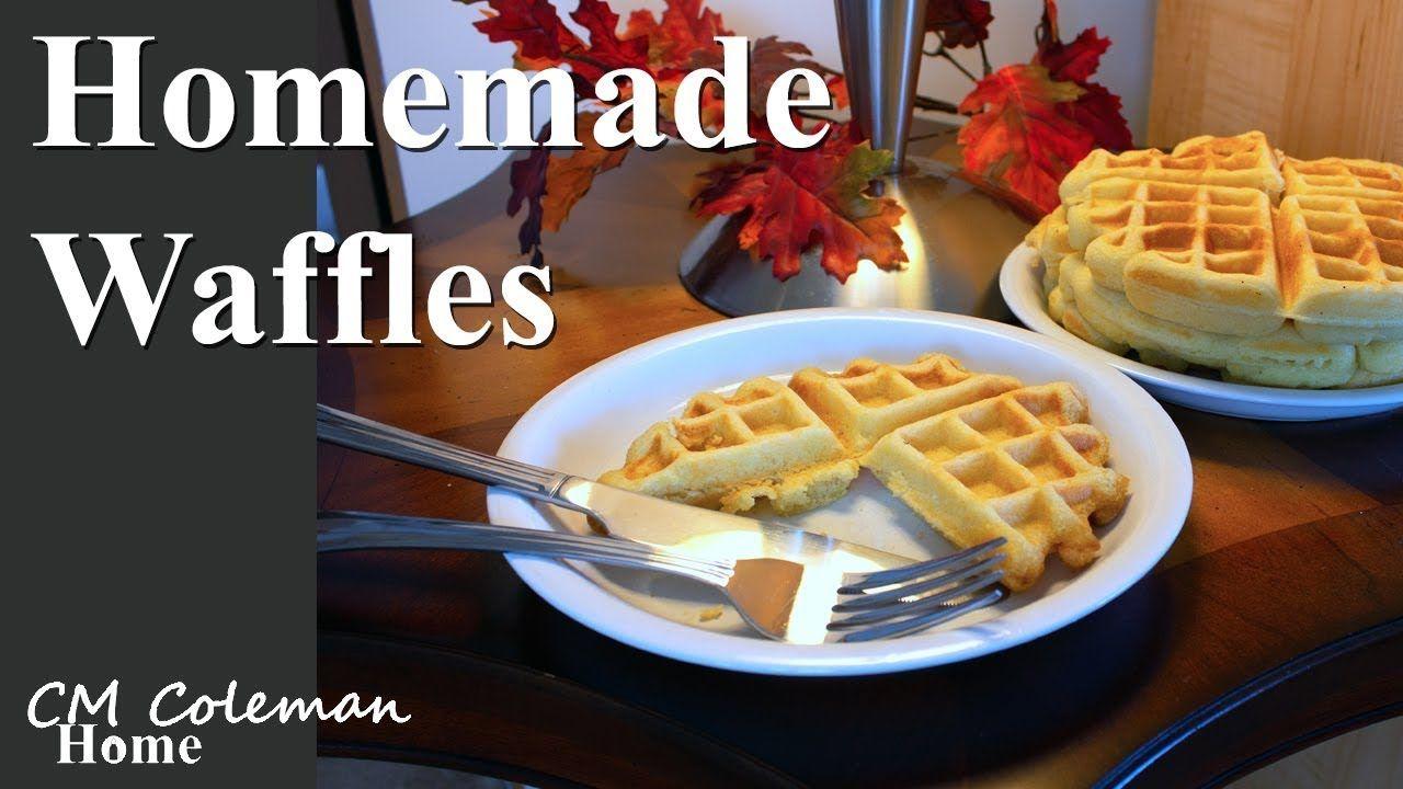 Homemade waffle recipe homemade waffles waffles recipe
