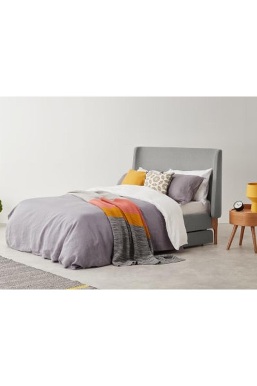 MADE Cool Grey Upholstered beds Grey upholstered bed