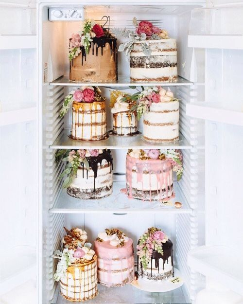 The craving is real! An amazinf selection of cakes for any big event!