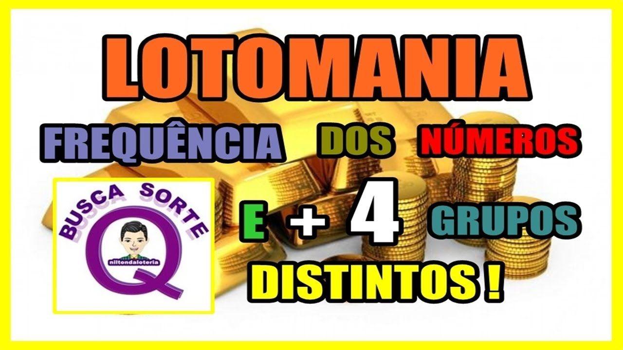 Lotomania Frequencia Dos Numeros E 4 Grupos Distintos