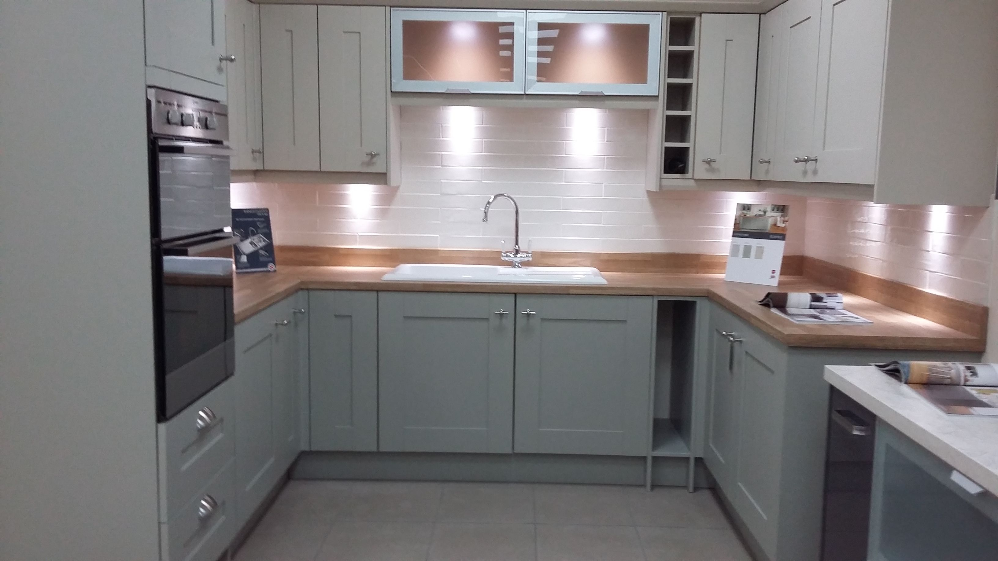 BY DESIGN Rye Painted To Order Kitchen in two colours