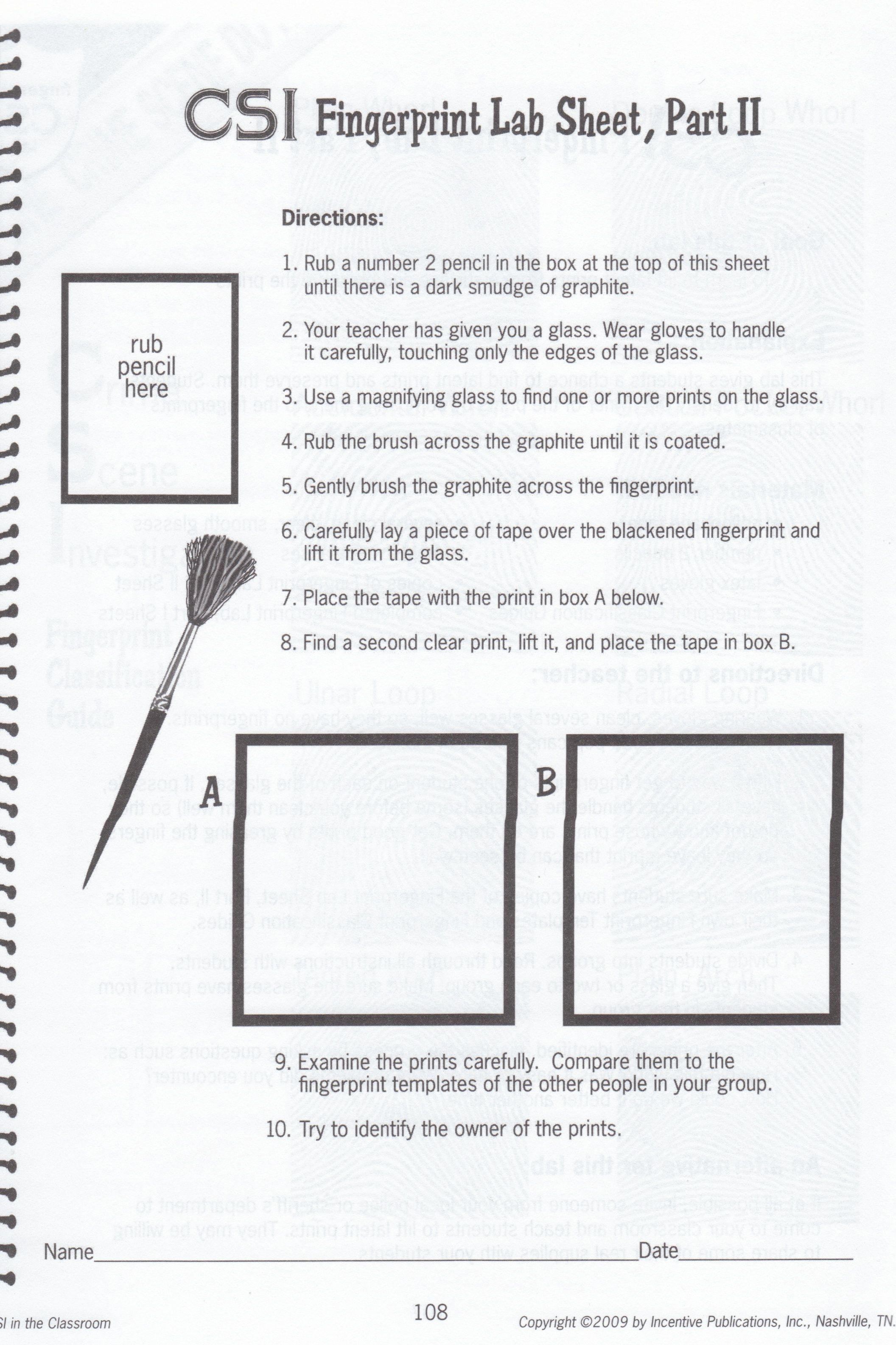Chromatography Worksheet For Kids
