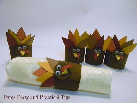 Turkey Napkin Rings #napkinrings