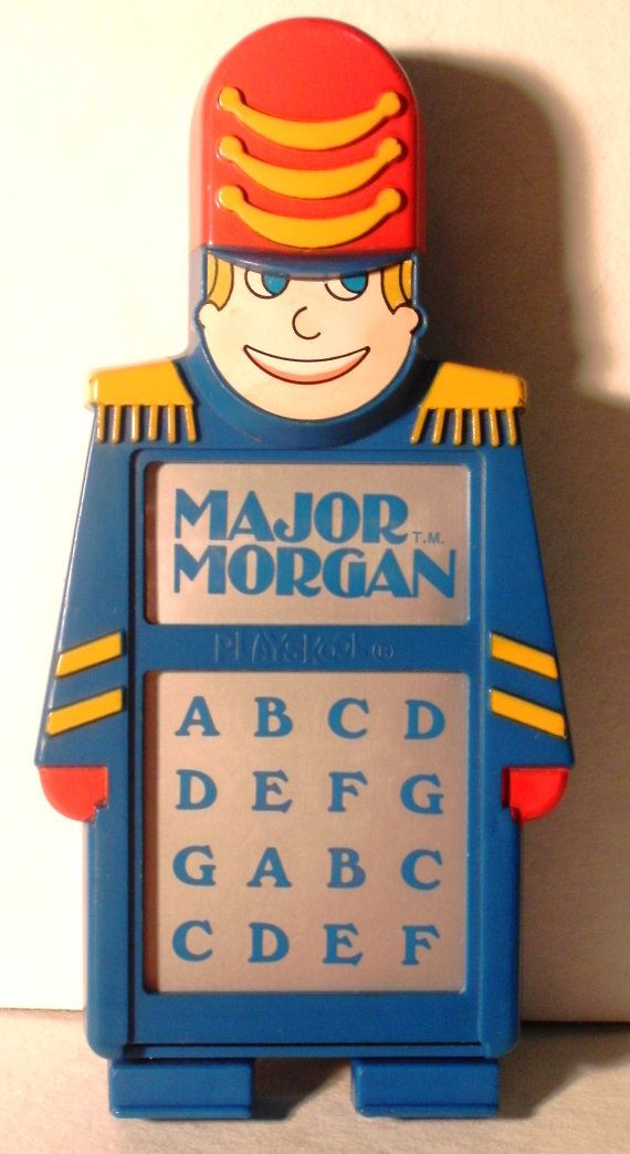 Major Morgan 1980s Hand Held Electronic Organ Toy By