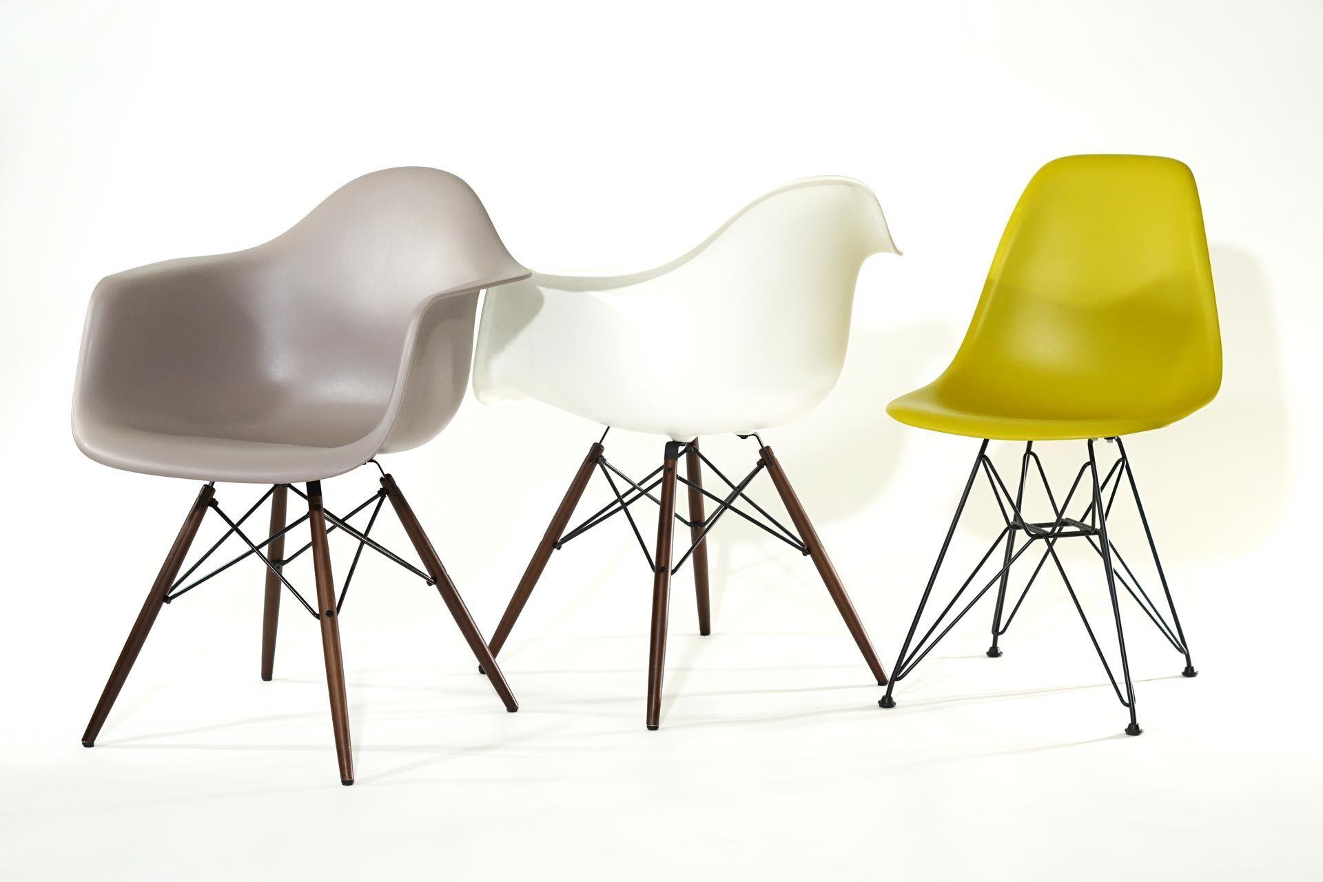 Vitra Eames Plastic Chairs Eames Stuhle Designklassiker