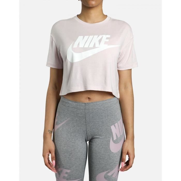 NIKE Sweatshirt Nsw Essential – Femme – Rose