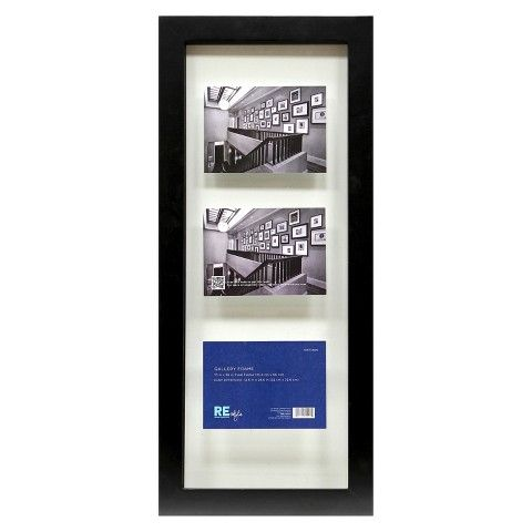 Float Frame Black 10x26 Glass For 3 5x7 Photos Room Essentials Photo Room Room Essentials Floating Frame