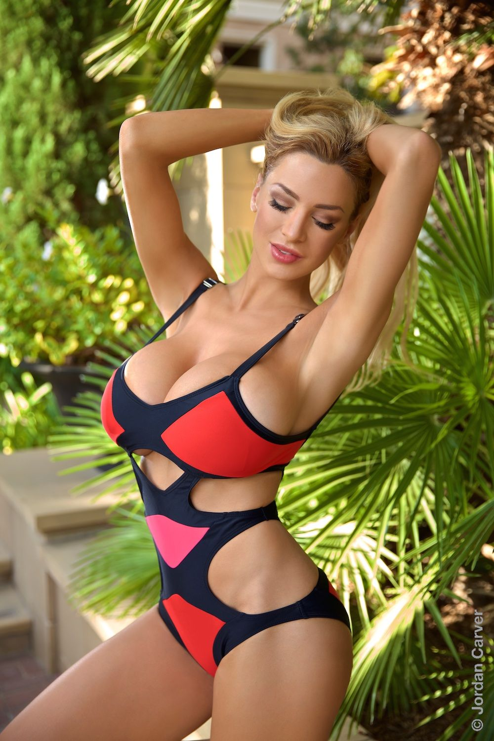 Jordan Carver Preview Of Her Set Tropical Bunny Joca