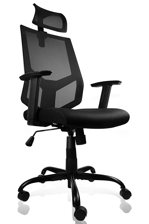 Ergonomic Office Chair Adjustable Headrest Mesh Office Chair Office Desk Chair C In 2020 Best Ergonomic Office Chair Ergonomic Office Chair Office Chair