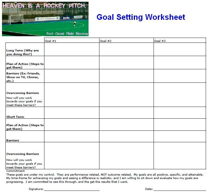 Fillable personal goal setting worksheet - Edit, Print & Download ...
