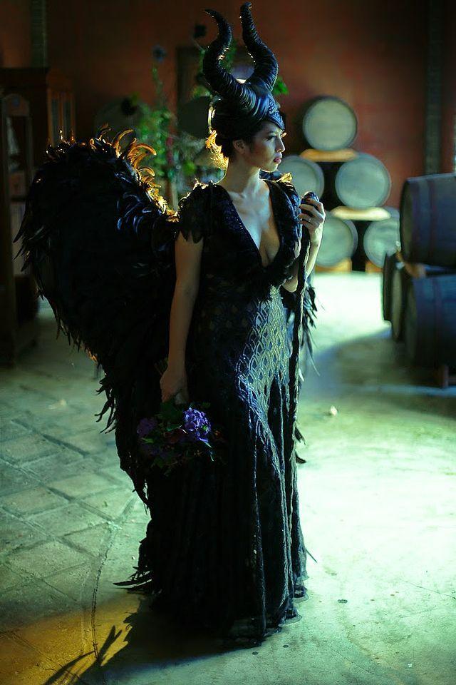 Maleficent bride.
