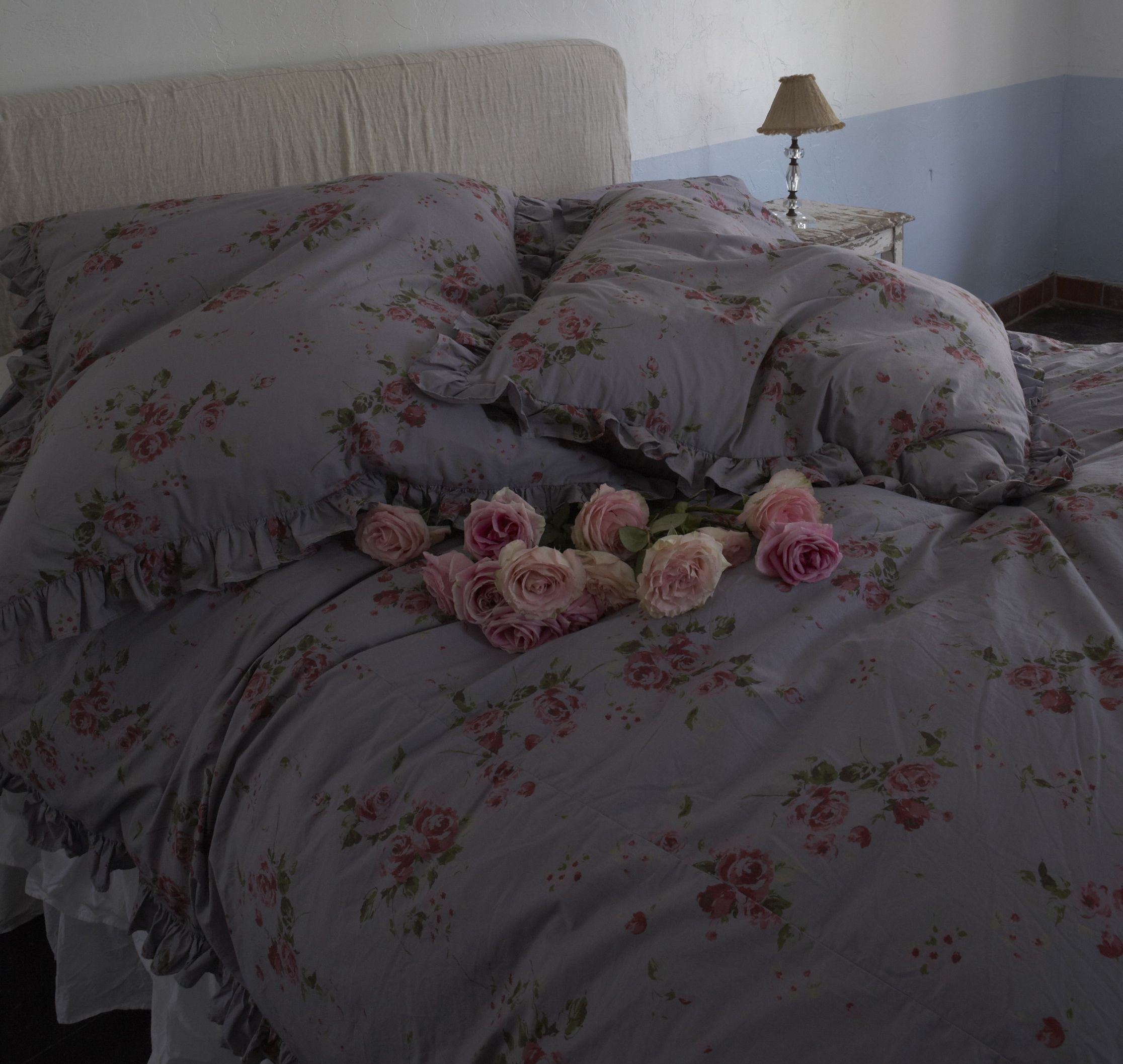 Somerset overdyed Bedding Collection from Rachel Ashwell Shabby Chic Couture stores