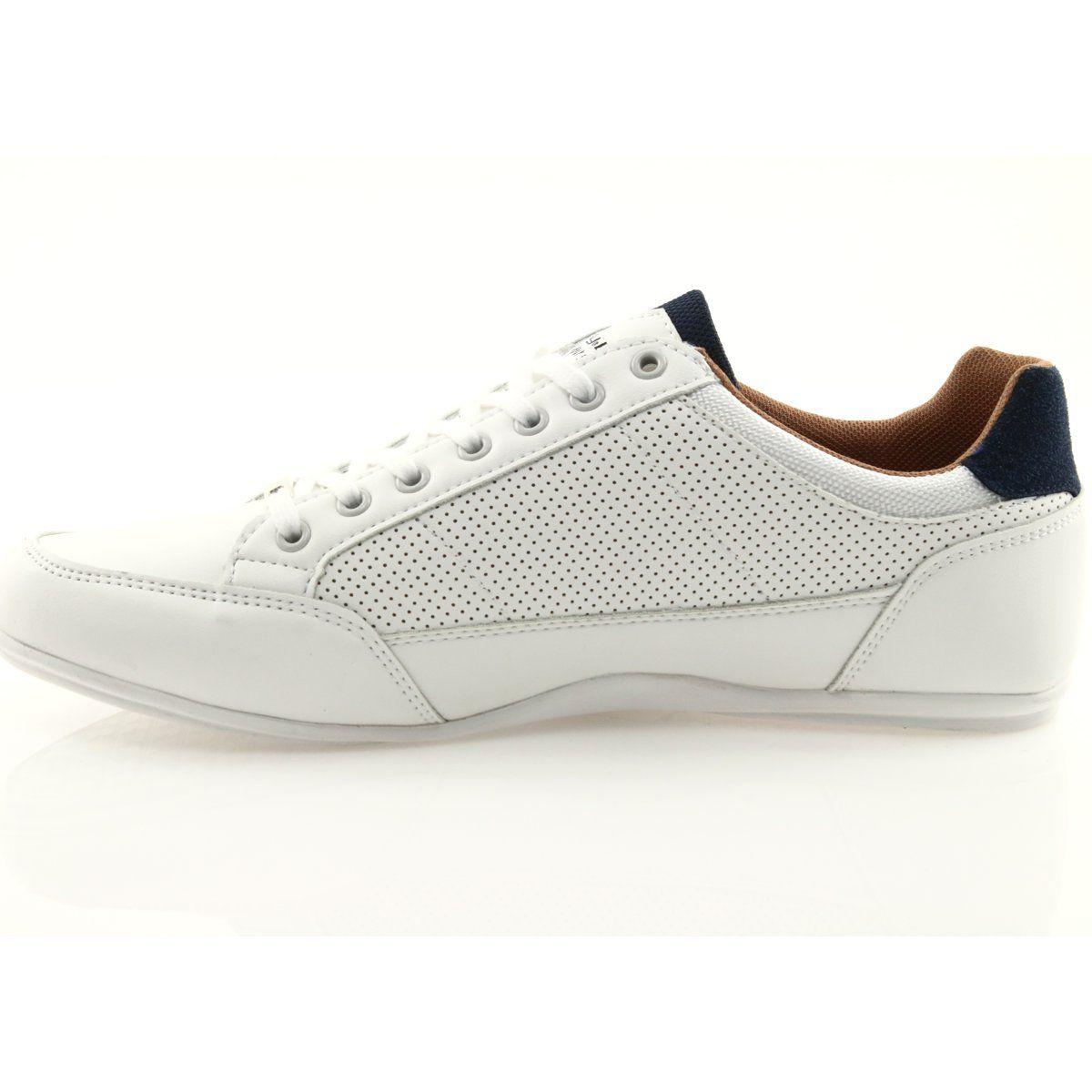 Buty Sportowe Meskie Mckey 901 Biale Czerwone Granatowe Sport Shoes Men Sport Shoes Shoes