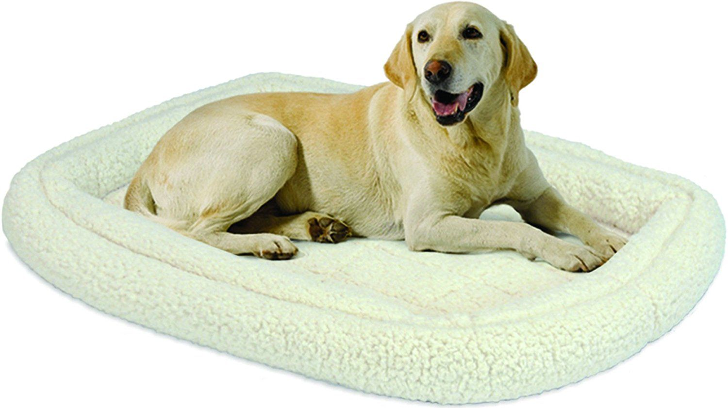 Midwest Homes for Pets Double Bolster Bed >>> Find out more details by clicking the image : Dog crates