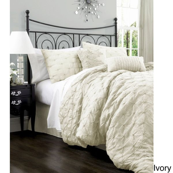 Lush Decor Lake Como 4-piece Comforter Set - 15472481 - Overstock.com Shopping - Great Deals on Lush Decor Comforter Sets