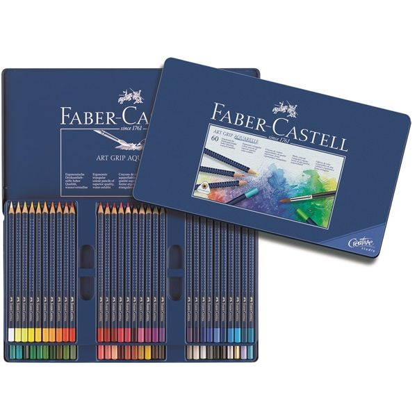 Aquarellstift Art Grip Aquarelle 60er Etui Ca 77 00 Buntstifte