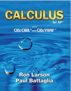 2017 Most Promising New Textbook Award winner, AP Calculus