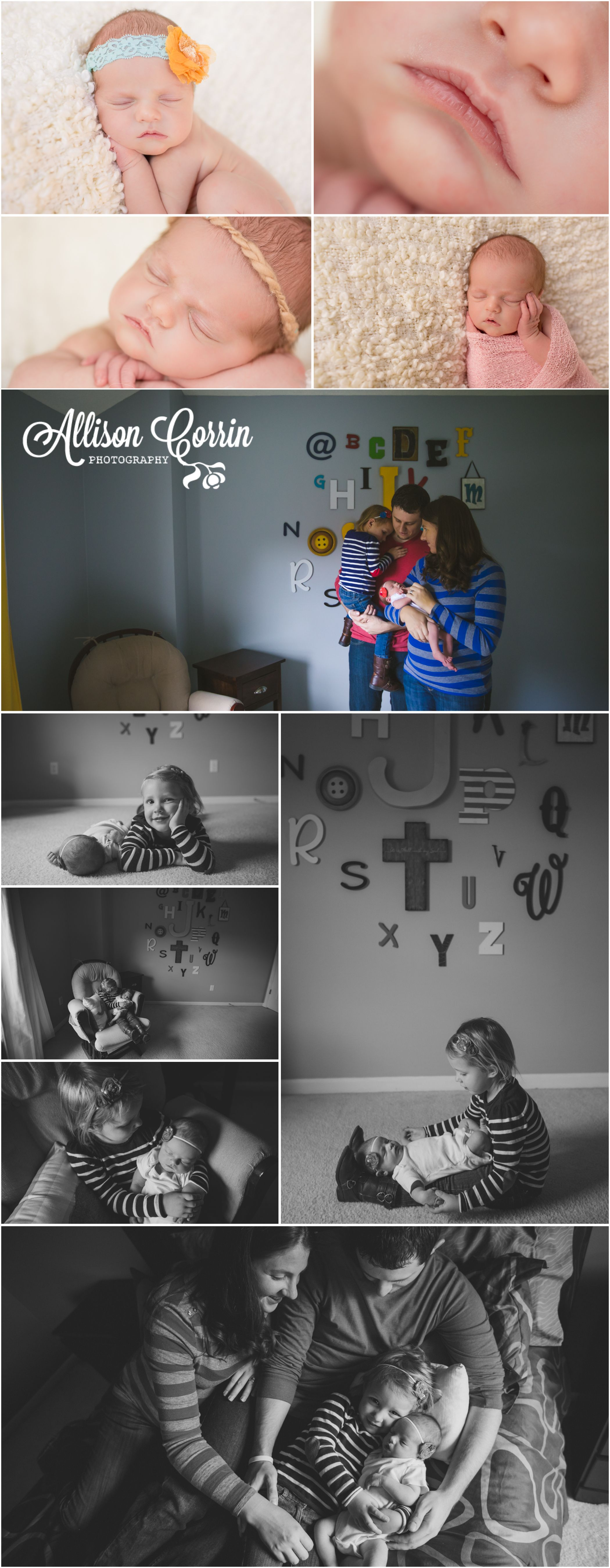Kansas City Newborn Lifestyle Photographer. Allison Corrin Photography. www.allisoncorrin.com