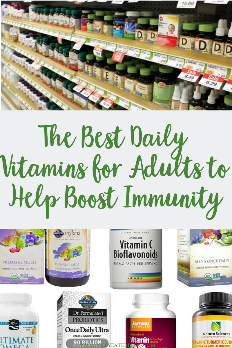 The Best Daily Vitamins for Adults to Help Boost Immunity