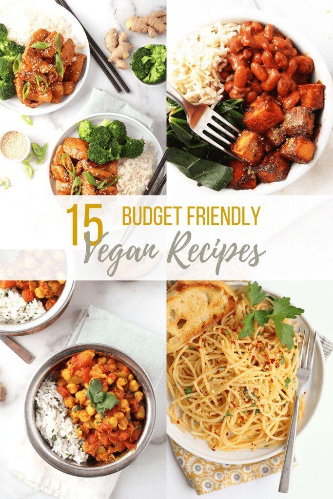 15 Wholesome Budget Vegan Recipes My Darling Vegan Cheap Vegan Meals Vegan Recipes Healthy Vegan Dinner Recipes