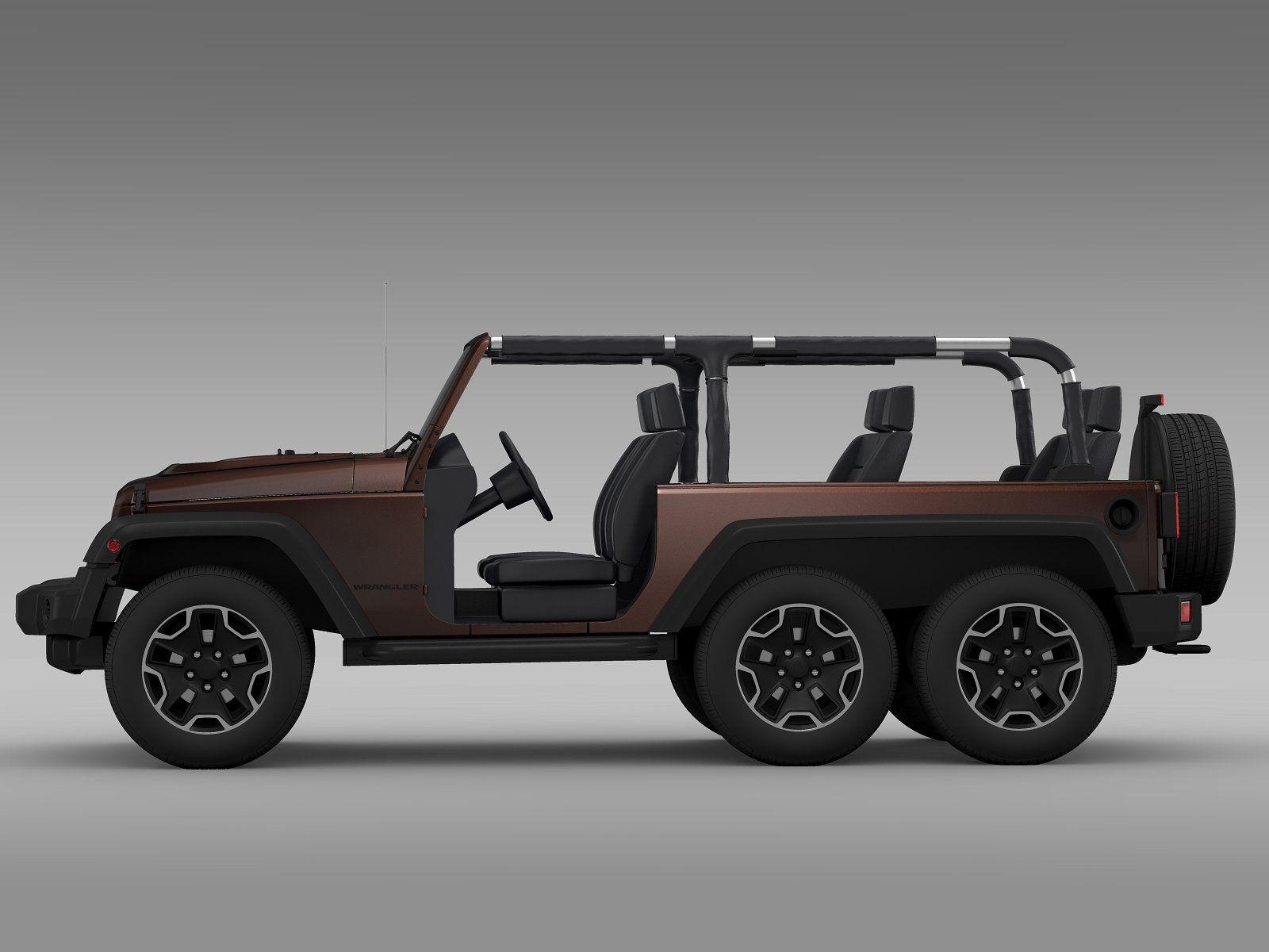 Jeep Wrangler Rubicon 6x6 2016 Jeep Wrangler Rubicon Wrangler Rubicon Mahindra Jeep