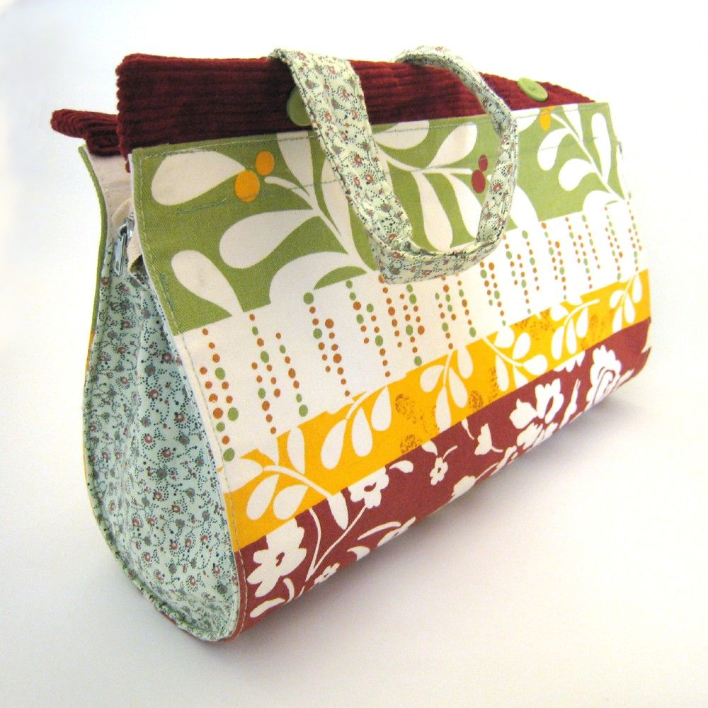Huckleberry Handbag from a Repurposed Placemat. $35.00, via Etsy.