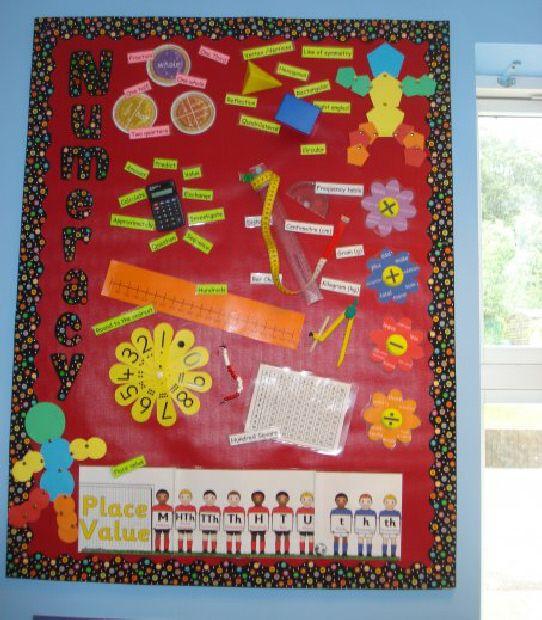 Classroom Ideas Year 2 ~ Year maths classroom display photo gallery