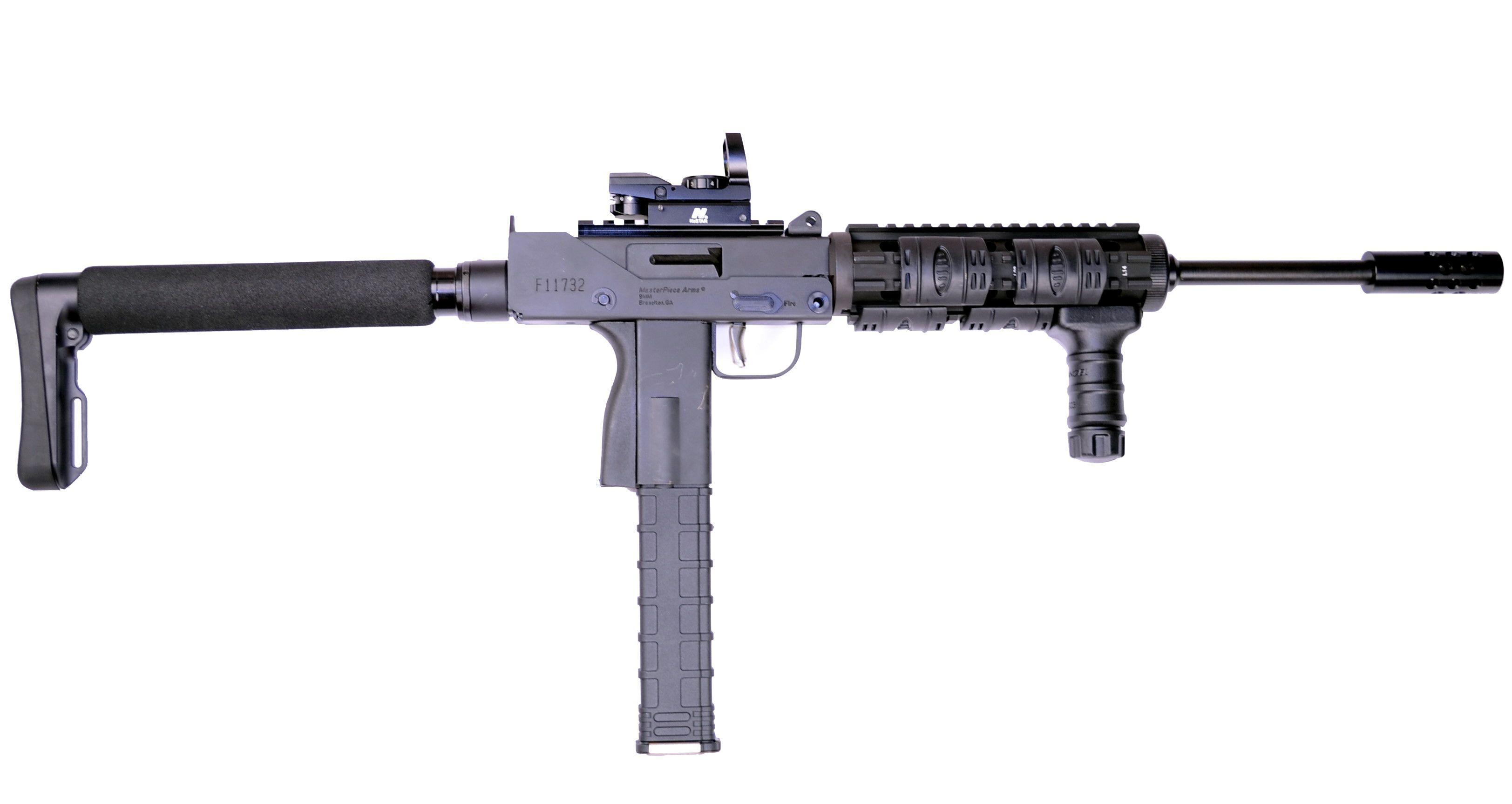MasterPiece Arms Unveils 9300 SST-X Tactical Carbine I