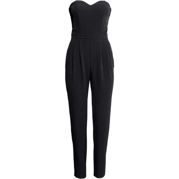 d494c31cc8 H M Bandeau jumpsuit ( 22) ❤ liked on Polyvore featuring jumpsuits ...