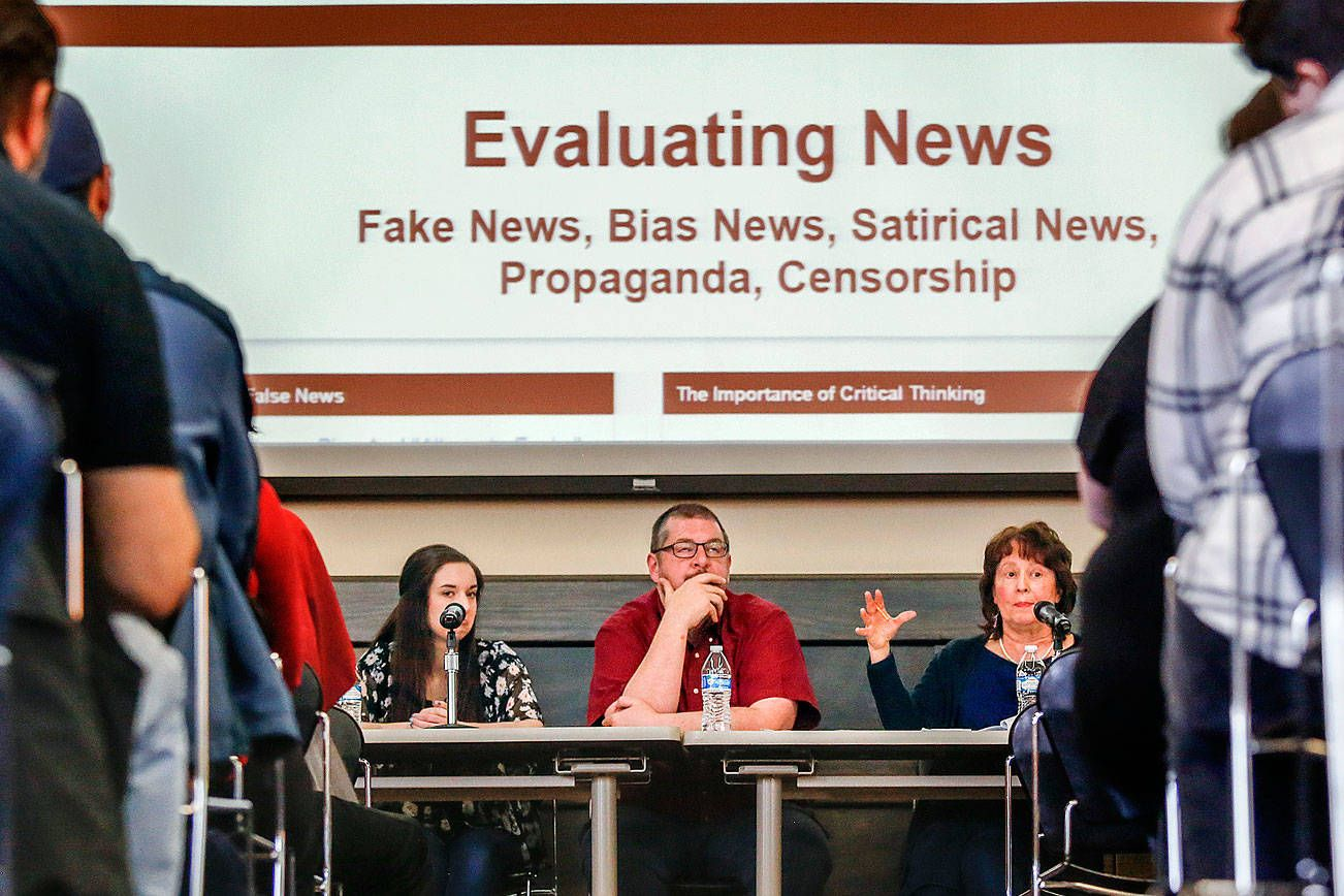 Evcc panel discussions get real over fake news