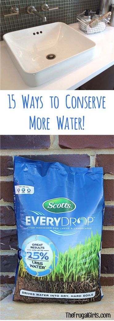 15 Easy Ways To Conserve More Water I Ve Been Using These 400 x 300