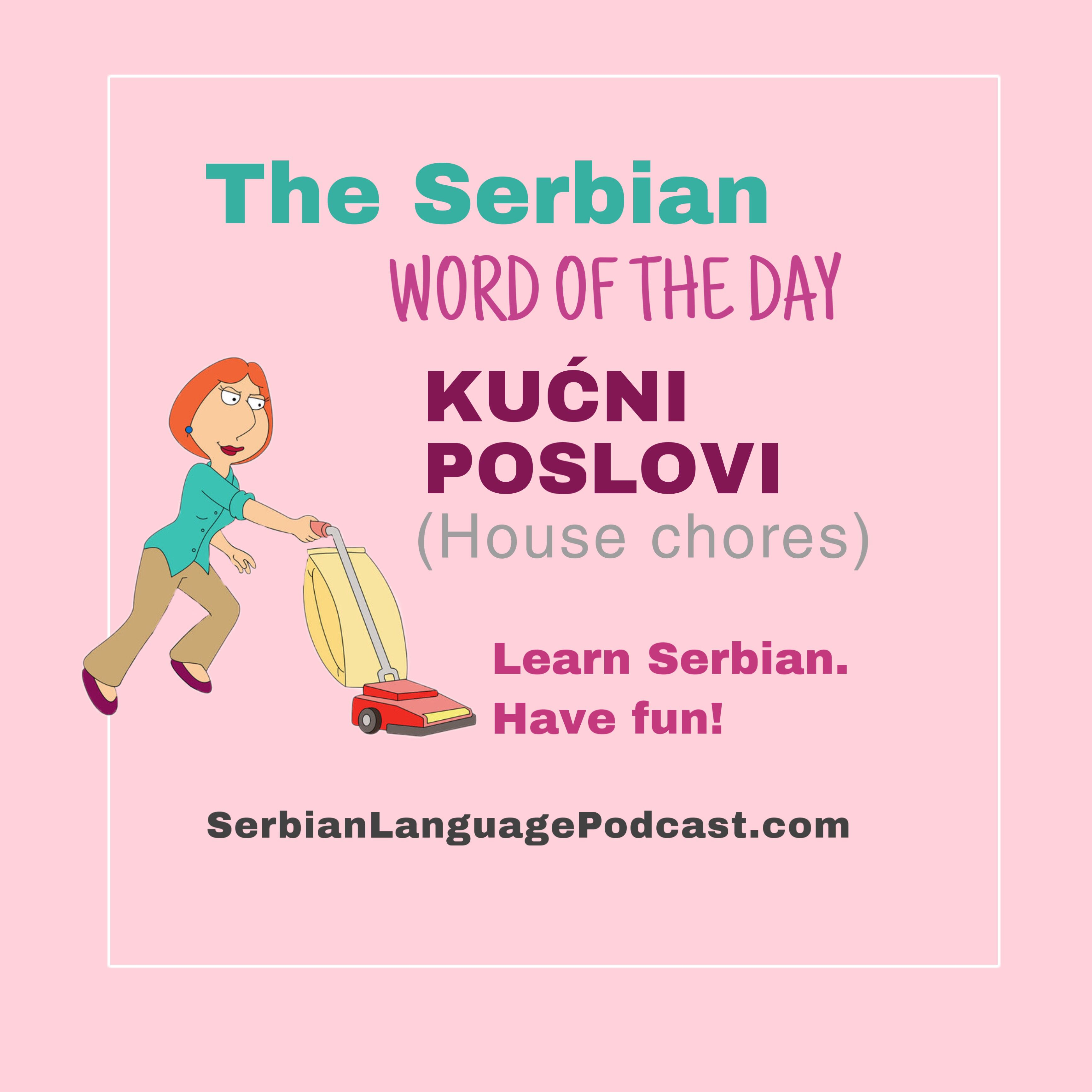 Pin By Serbian Language Podcast On Serbian Words Of The