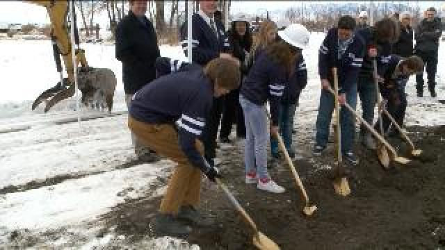 Officials break ground on school for those with autism spectrum disorders