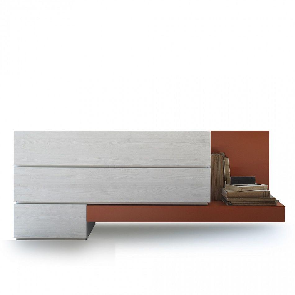 Contemporary design dressing table 'Cento' by Santa Lucia