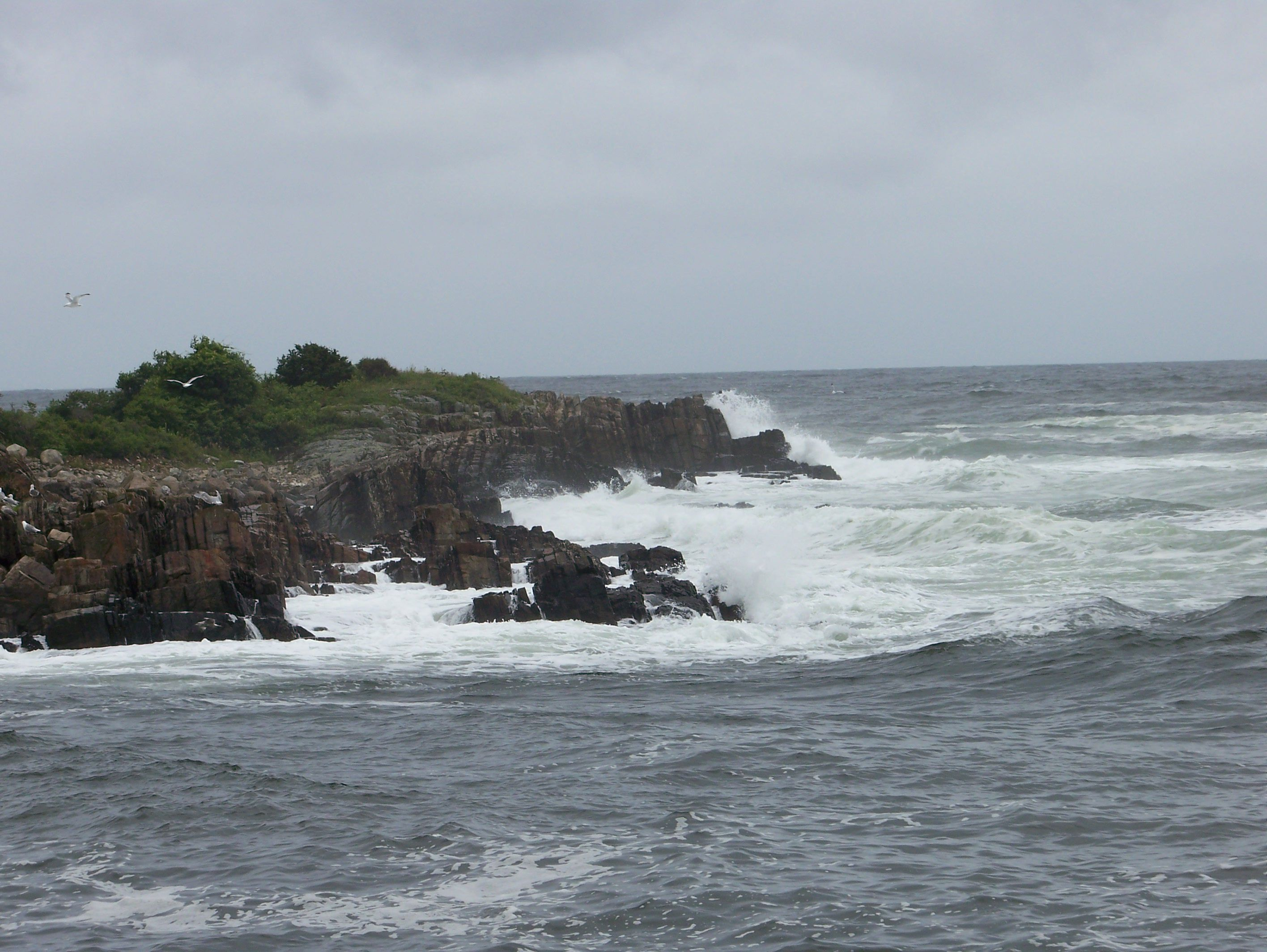 The Atlantic Ocean as seen from Maine