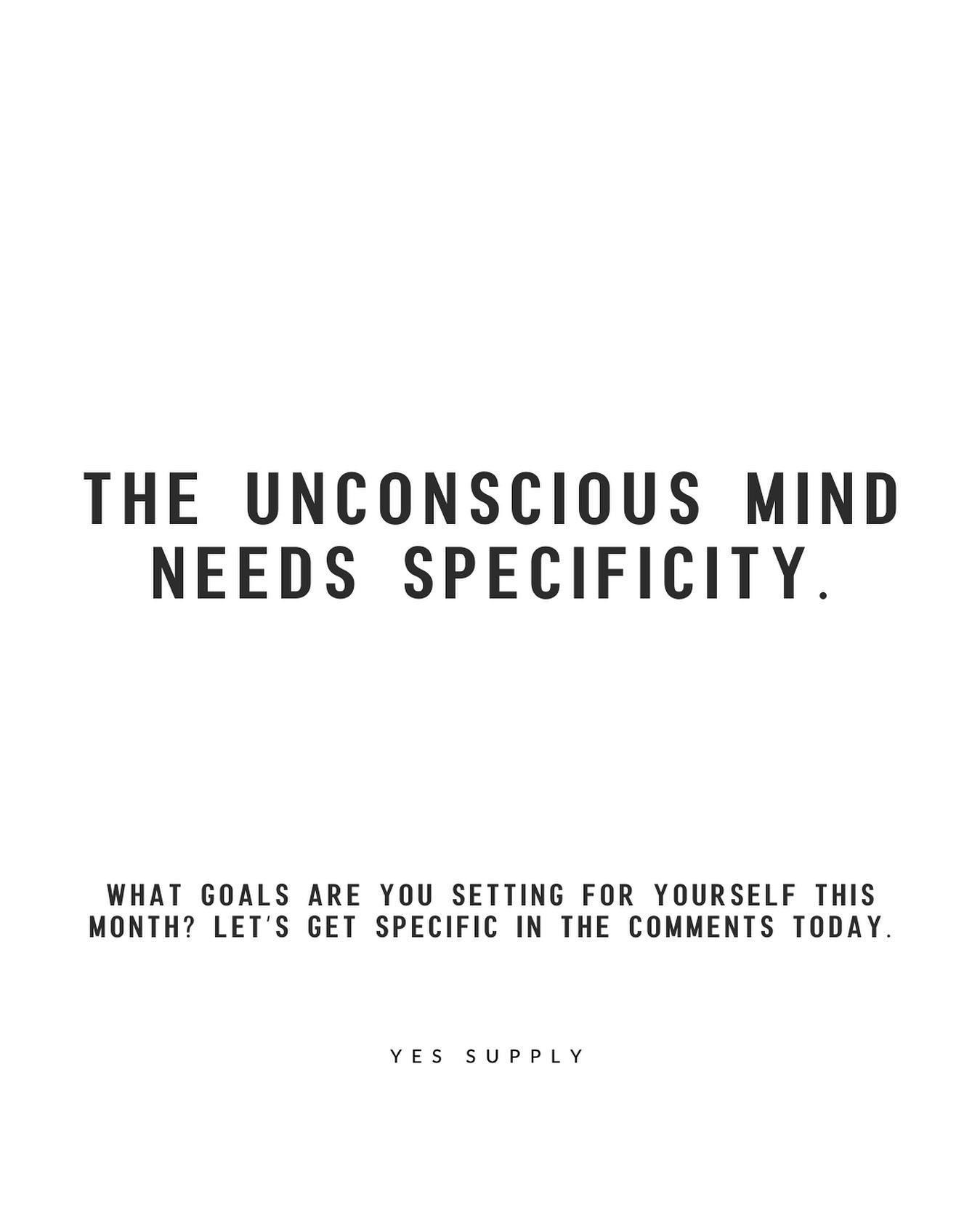 The unconscious mind needs specificity in 5  Self love quotes
