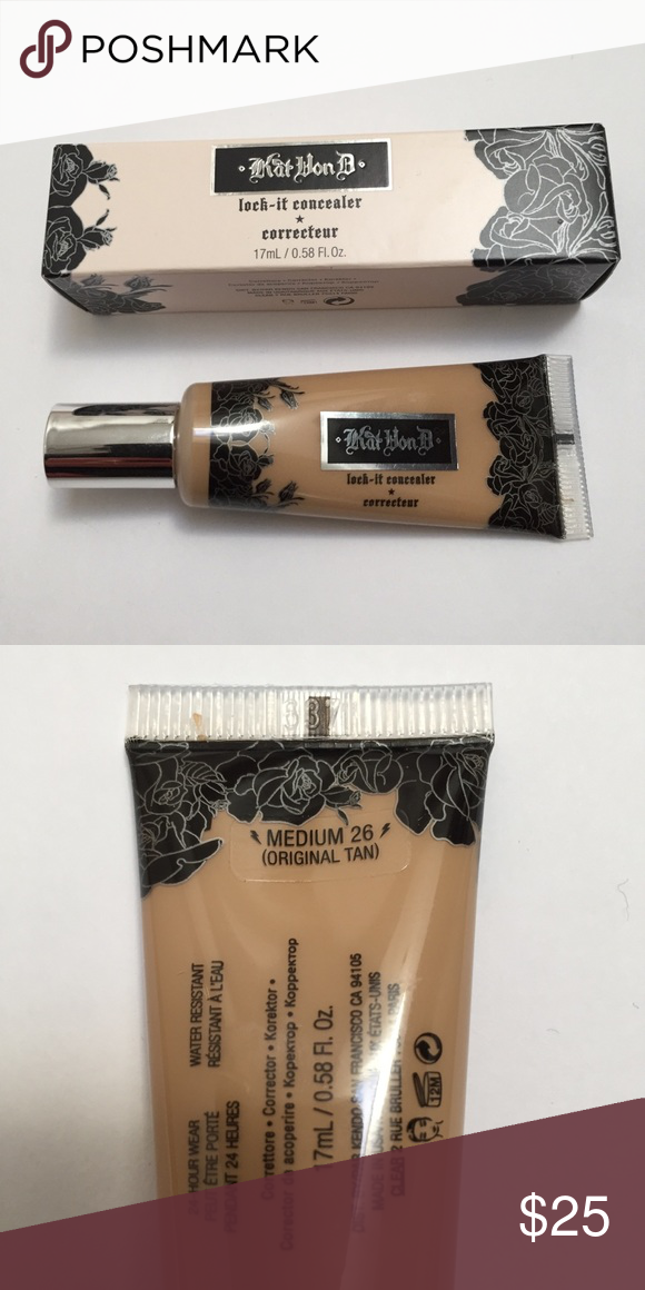 Kat Von D Lock It Tattoo concealer Brand new. Tube has been swatched ...