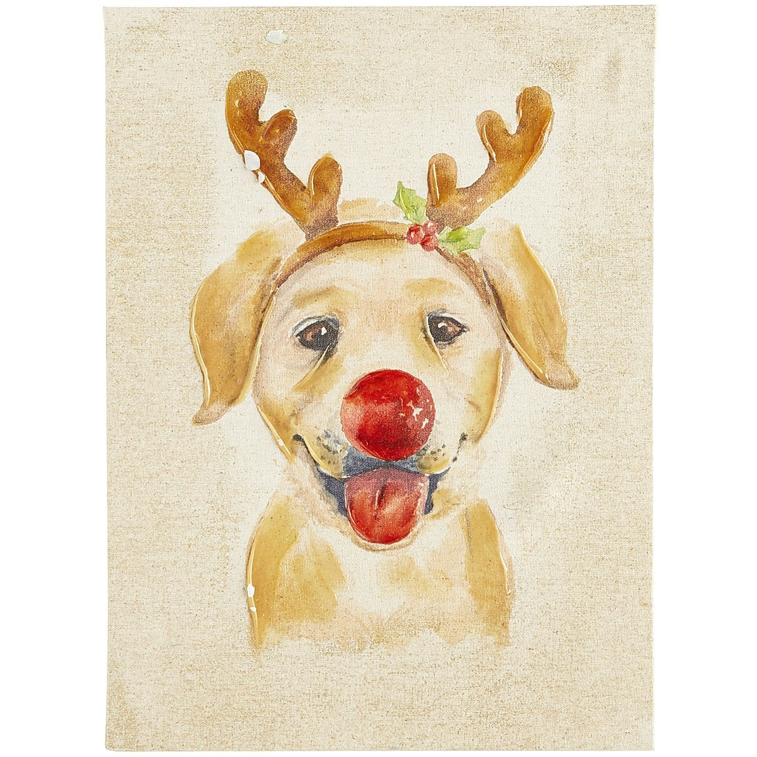 Reindeer Woof Art | Pier 1 Imports | Party | Pinterest