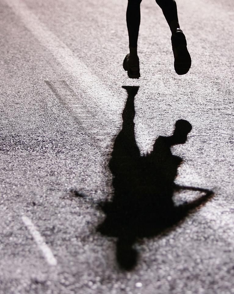 Runners Always Have Their Shadow To Keep Them Company Activelifestyle Running Mindensemble Running Photography Running Photos Nike Running