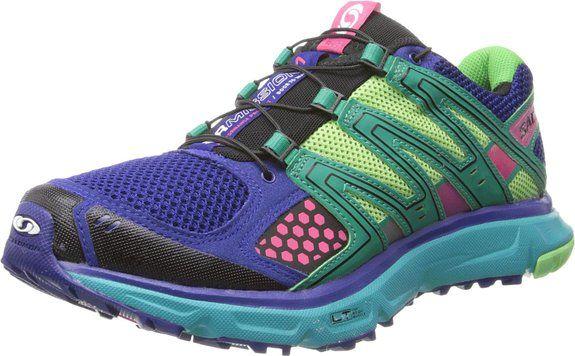 37a66635b17ba Salomon Women's XR Mission W Trail Running Shoe,Blue/Emerald Green ...